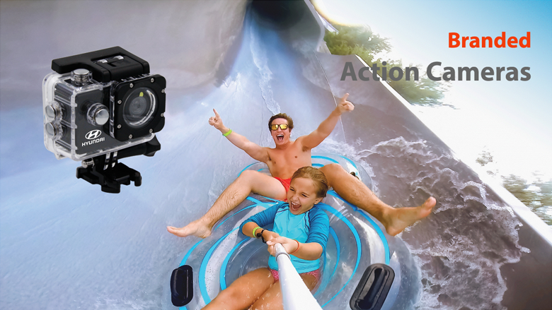 Promotional Action Camera, Personalized Action Camera, Branded Action Camera, Custom Action Camera, Logoed Action Camera