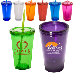 tumblers with straw